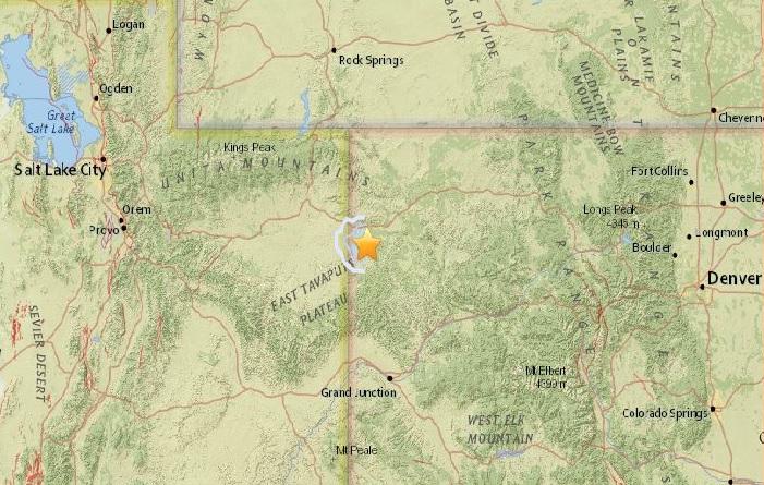 earthquake colorado, m3.7 earthquake colorado, m3.7 earthquake colorado april 2017, m3.7 earthquake colorado april 22 2017
