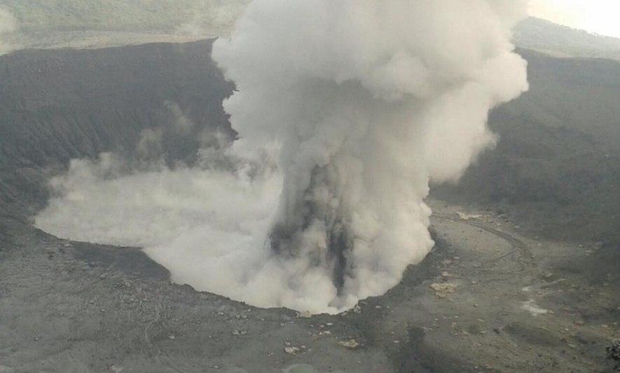 Poas eruzione aprile 2017