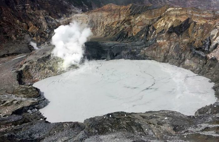 poas volcano evacuation increased activity, poas news, Evacuation at Poas Volcano in Costa Rica, Increased activity inside Poás Volcano includes a dense mist, rich in acids of magmatic origin, coming from the crater, as well as changes in the composition and color of the crater's lake