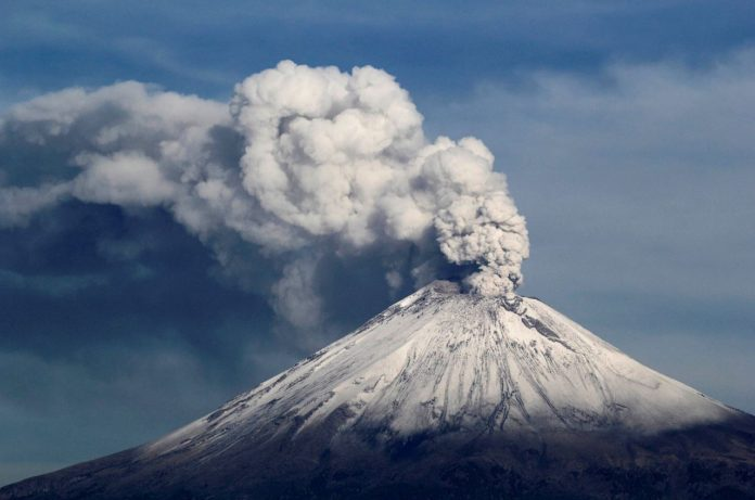 popocatepetl volcano, popocatepetl volcano eruption april 2017, popocatepetl volcano april 21 2017