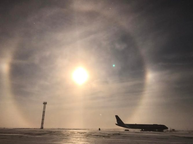sundog, sundogs, sundog russia, sundog piture, gate to another dimension solar halo, solar halo april 2017