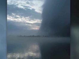 wall cloud, wall cloud video, wall cloud video detroit river