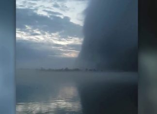 wall cloud, wall cloud video, wall cloud video detroit river