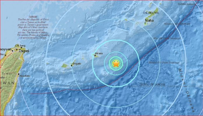 M6.0 earthquake japan may 9 2017, M6.0 earthquake hits Ryukyu Islands, Japan on May 9 2017