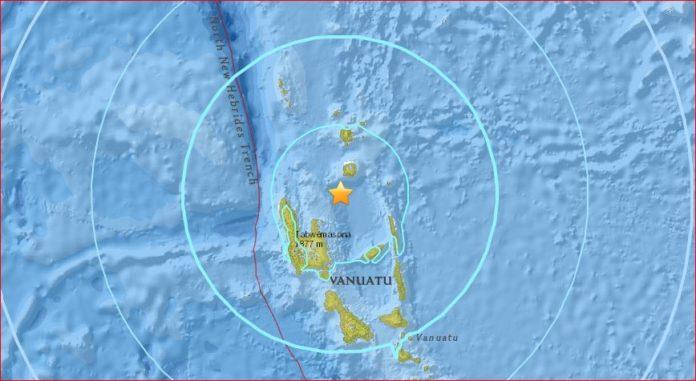 M6.8 earthquake vanuatu, M6.8 earthquake vanuatu may 2017