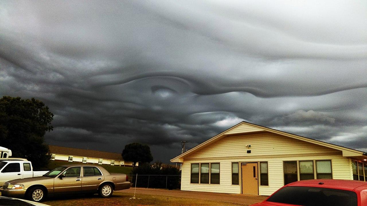 asperatus, asperatus undulatus, strange clouds, oklahoma, may 2017