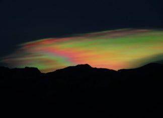 santiago de chile rainbownified, rainbonified, chile iridescent cloud