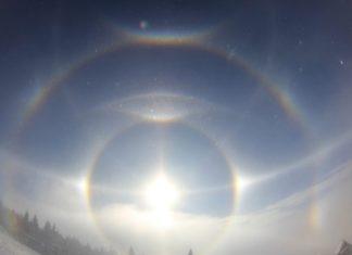 solar halos, complex solar halos, complex solar halos