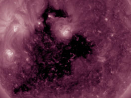 coronal hole sun may 18 2017, coronal hole sun, giant coronal hole sun may 18 2017, coronal hole sun may 18 2017 video, coronal hole sun may 18 2017 picture