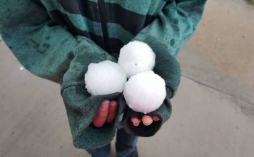 denver hailstorm, denver hailstorm video, denver hailstorm may 8 2017, Massive hail storm pits a white blanket on downtown Denver.,
