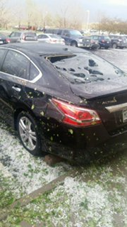 denver hailstorm, denver hailstorm video, denver hailstorm may 8 2017, Massive hail storm pits a white blanket on downtown Denver., Hail damage being reported throughout the metro area