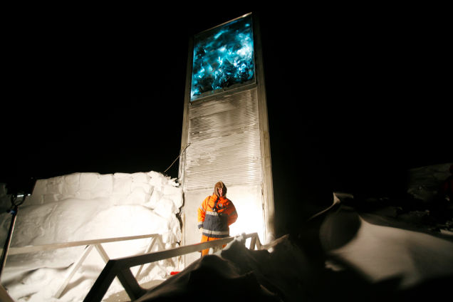 doomsday Seed Vault breached, doomsday Seed Vault breached video, doomsday Seed Vault breached photo, The Svalbard 'doomsday' seed vault was built to protect millions of food crops from climate change, wars and natural disasters. It has just breached.