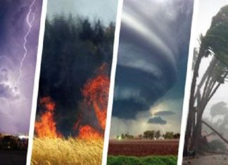 WMO announced new mortality records due to tropical cyclones, tornadoes, lightning and hailstorms on May 18 2017, new mortality records due to extreme weather