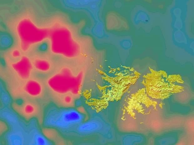falkland impact crater, falkland impact crater discovery, discovery falkland impact crater, falkland impact crater video, video falkland impact crater