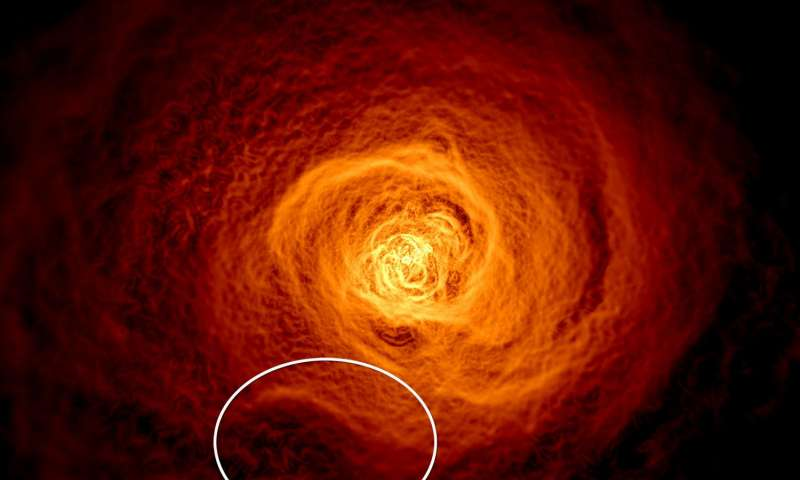 giant tsunami wave perseus galaxy cluster, Scientists find giant wave rolling through the Perseus galaxy cluster, Scientists find giant wave rolling through the Perseus galaxy cluster