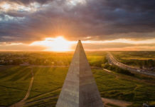 golod pyramid moscow destroyed, golod pyramid moscow destroyed video, destruction golod pramid, golod pyramid moscow storm video, The Golods' pyramid near Moscow was destroyed during the apocalyptical storm that engulf Moscow and the region on May 29 2017. Watch the video of the collapse