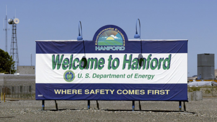 Possible leak found at Washington nuclear site, officials investigating leak hanford nuclear site