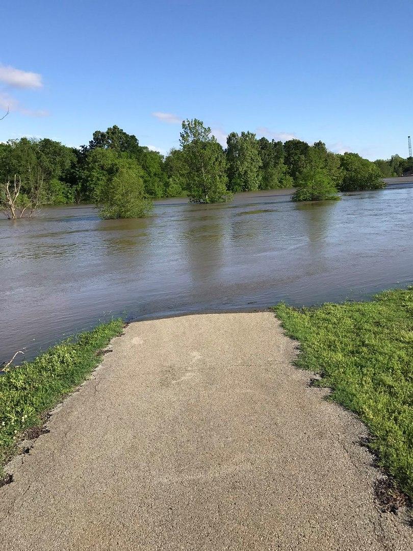historic floodings missouri arkansas illinois