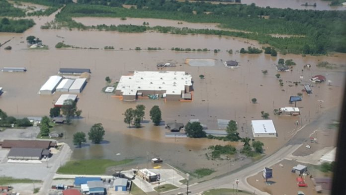 historic floodings missouri arkansas illinois