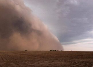 iowa storm, iowa dust storm, iowa extreme weather