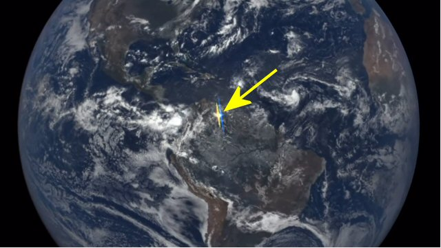 Mysterious flashes of light captured by NASA satellite ...