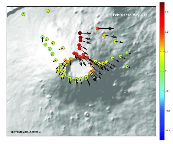 volcano eruption, may 2017 volcanic eruption, latest volcanic eruptions, piton de la fournaise may 17 eruption