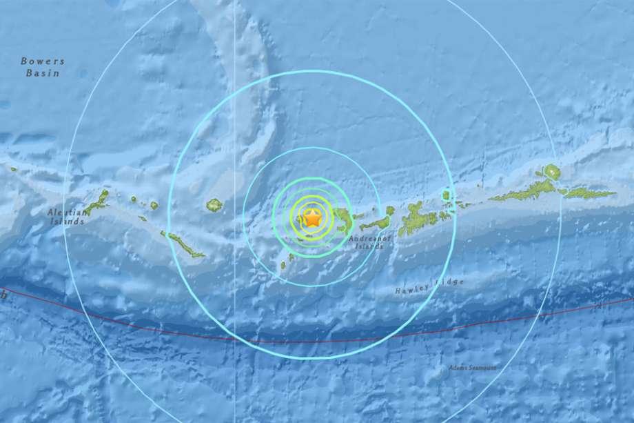 tanaga volcano M6.4 earthquake, A magnitude 6.4 quake struck near Tanaga Volcano, Alaska on May 8 2017