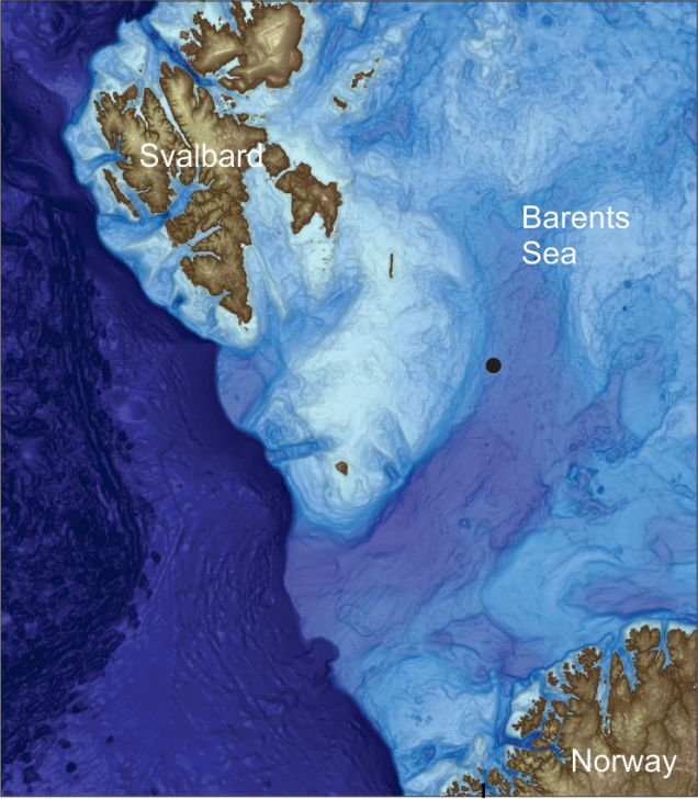Hundreds of Giant Seafloor Craters Produced By Explosive Methane Farts Discovered in Barents Sea, hundreds of crater barets sea, huge underwater crater methane barents sea