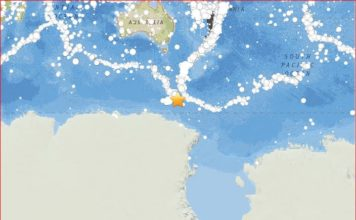 M6.0 earthquake balleny islands june 4 2017, M6.0 earthquake hit the Balleny Islands in Antarctica on June 4 2017,