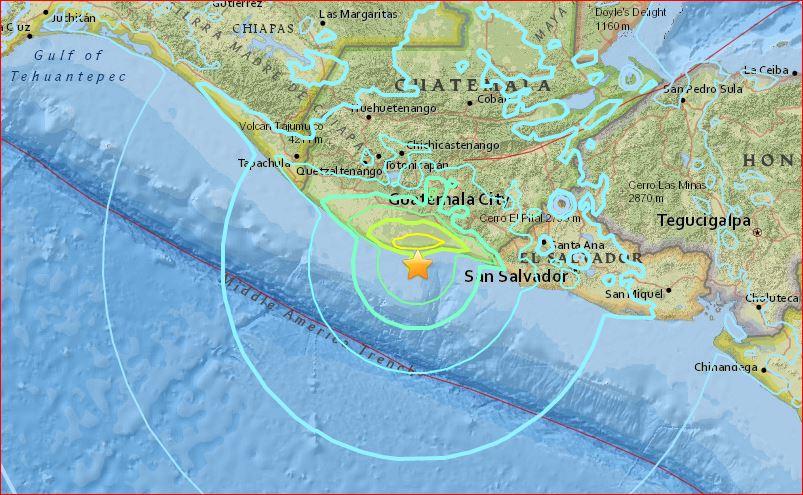 M6.8 earthquake guatemala june 22 2017, M6.8 earthquake hits Guatemala on June 22 2017, M6.8 earthquake hits Guatemala on June 22 2017 photo, M6.8 earthquake hits Guatemala on June 22 2017 video