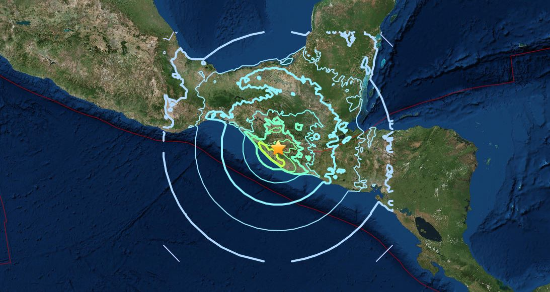 GIANT EARTH CRACKS APPEAR AFTER M8.2 EARTHQUAKE in Mexico - Destabilized Earth. M6.9-earthquake-guatemala-mexico-june-14-2017-terremoto-guatemala