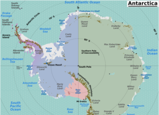 MILES OF ICE COLLAPSING INTO THE SEA In Antarctica, antarctica ice collapse, antarctica ice melting, antarctica ice moves