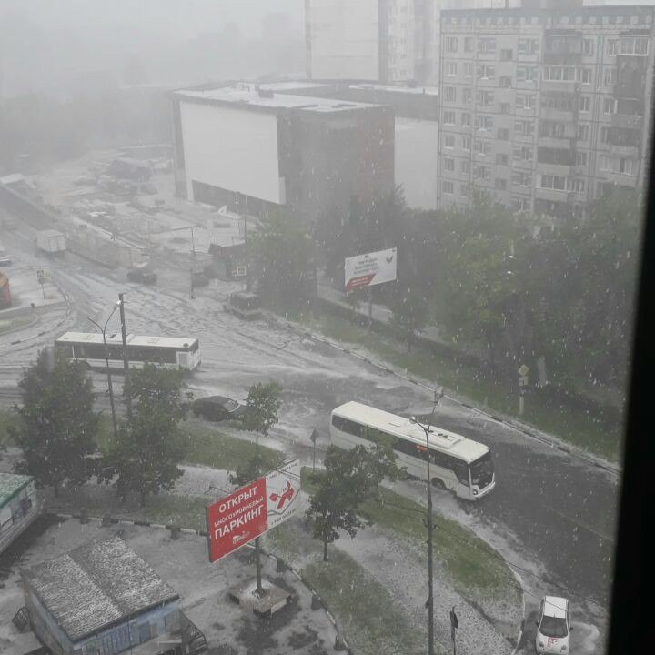 moscow floods, Floods and hail in Moscow on June 30 2017, moscow floods pictures, moscow floods video,