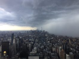 new york storm, new york storm video, new york storm pictures, new york storm june 19 2017 video and pictures, Sudden storm engulfs New York Cit on June 19 2017
