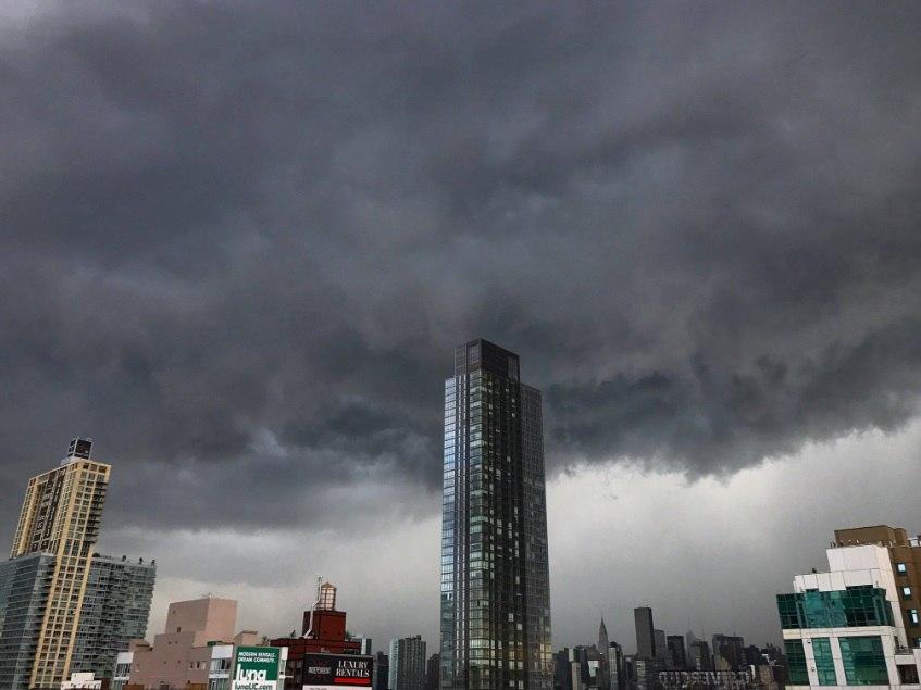 new york storm, new york storm video, new york storm pictures, new york storm june 19 2017 video and pictures, Sudden storm engulfs New York Cit on June 19 2017