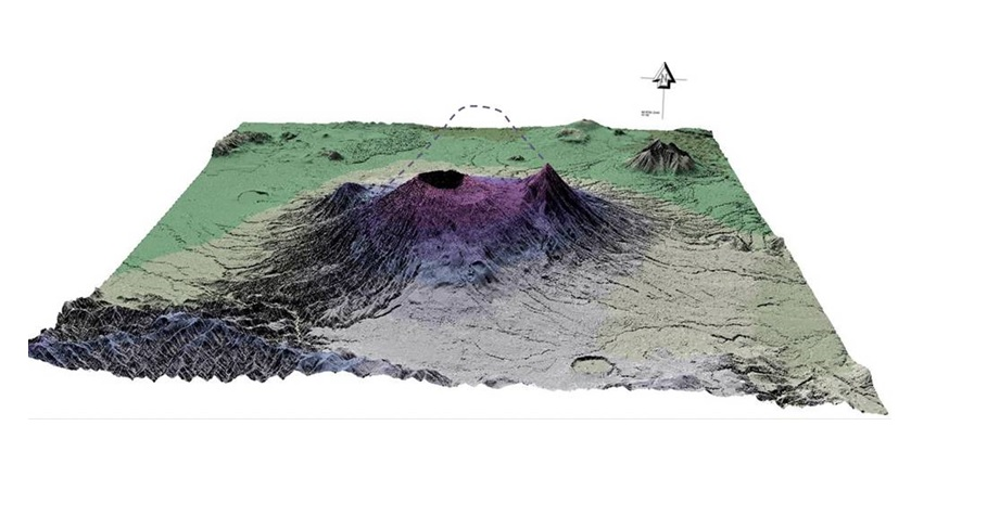 san salvador volcano size, Volcano of San Salvador lost thousand meters of height during eruptions, Volcán de San Salvador perdió mil metros de altura durante erupciones