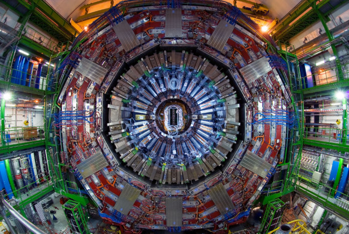 the large hadron collider, cern the large hadron collider, the large hadron collider at cern, cern breaks record, lhc breaks records, record luminosity cern, This plot shows the values of the luminosity reached during the last few weeks by the LHC, with the record of 1.58x1034 cm-2s-1 achieved on Wednesday 28 June.