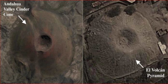 Mysterious volcano-shaped pyramid in Peru bafles scientists, volcano-shaped pyramid peru pictures, volcano-shaped pyramid peru video