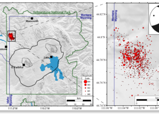 yellowstone park earthquake swarm june 2017, yellowstone supervolcano earthquake swarm, Over 800 earthquakes have now been recorded at Yellowstone supervolcano over the last two weeks
