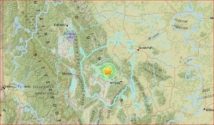 Earthquake strikes near Yellowstone in Montana, m5.8 Earthquake strikes near Yellowstone in Montana, m5.8 Earthquake strikes near Yellowstone in Montana video