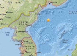 M5.8 earthquake north korea july 2017, M5.8 earthquake north korea july 2017 map, M5.8 earthquake north korea july 2017 nuclear test