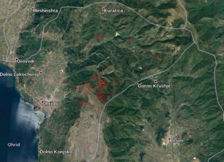 earthquake swarm macedonia, earthquake swarm macedonia july 2017, ohrid earthquake swarm macedonia, Earthquake swarm near Ohrid in Macedonia could awake extinct volcano