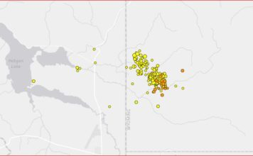 earthquake swarm yellowstone july 2017, 201 earthquake hit west yellowstone, new earthquake swarm yellowstone july 2017, earthquake swarm yellowstone july 2017, A NEW earthquake swarm is currently rattling Yellowstone with more than 201 quakes in one week recorded near Yellowstone West