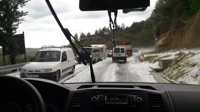 hailstorm croatia, hailstorm croatia video, hailstorm croatia photo, hailstorm croatia july 26 2017