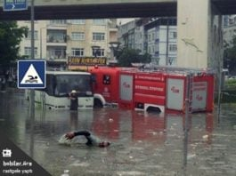 istanbul flash floods, istanbul storm july 2017, istanbul storm video, istanbul storm july 18 2017 video and pictures, Record rain in Istanbul produce widespread flooding, istanbul storm