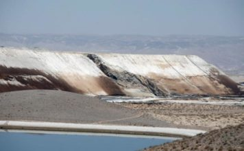 toxic tsunami israel desert, 'Toxic tsunami' of wastewater gushes over Israeli desert killing animals and plants after reservoir wall collapse