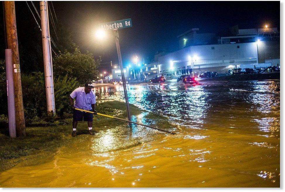 Flash floods in Flint and Boston on August 2 2017, flint michigan flash floods august 2017
