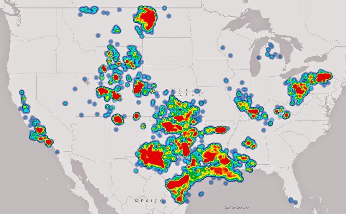 What The Frack These Maps Show Where You Shouldnt Drink Tap - Aquifer oil pollution us map