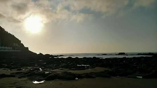 ocean receding brazil august 23 2017