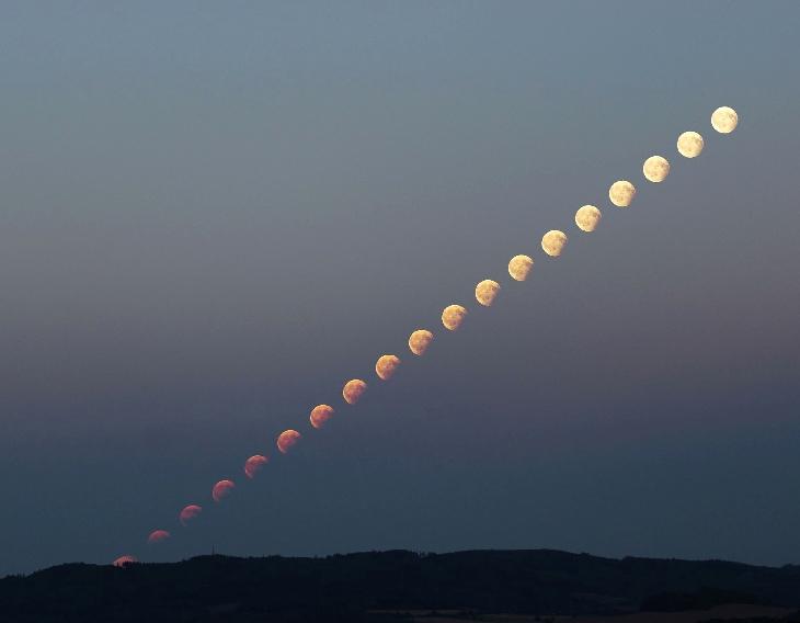 partial lunar eclipse august 7 2017, partial lunar eclipse august 7 2017 pictures, partial lunar eclipse august 7 2017 video